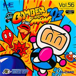 Box cover for Bomberman '93 on the NEC PC Engine.