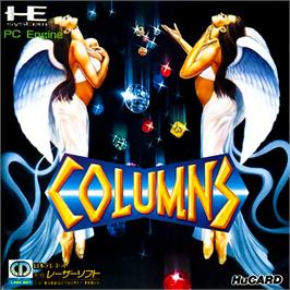 Box cover for Columns on the NEC PC Engine.