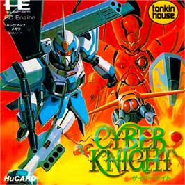 Box cover for Cyber Knight on the NEC PC Engine.