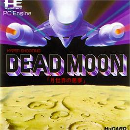 Box cover for Dead Moon on the NEC PC Engine.