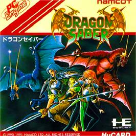 Box cover for Dragon Saber: After Story of Dragon Spirit on the NEC PC Engine.