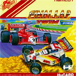Box cover for Final Lap Twin on the NEC PC Engine.