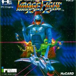 Box cover for Image Fight on the NEC PC Engine.