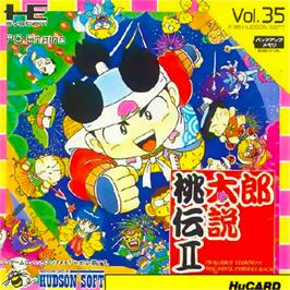 Box cover for Momotarou Densetsu II on the NEC PC Engine.