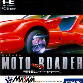 Box cover for Moto Roader on the NEC PC Engine.