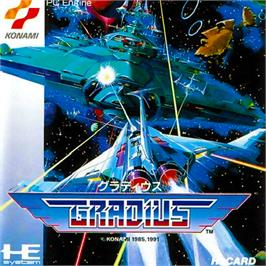 Box cover for Parodius on the NEC PC Engine.