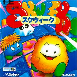 Box cover for Skweek on the NEC PC Engine.