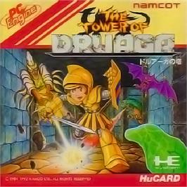 Box cover for The Tower of Druaga on the NEC PC Engine.