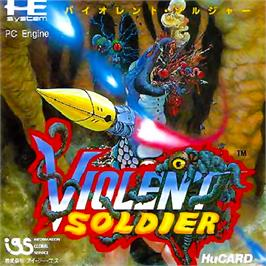 Box cover for Valis: The Fantasm Soldier on the NEC PC Engine.
