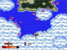 In game image of 1943 Kai on the NEC PC Engine.