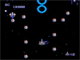 In game image of Super Star Soldier on the NEC PC Engine.