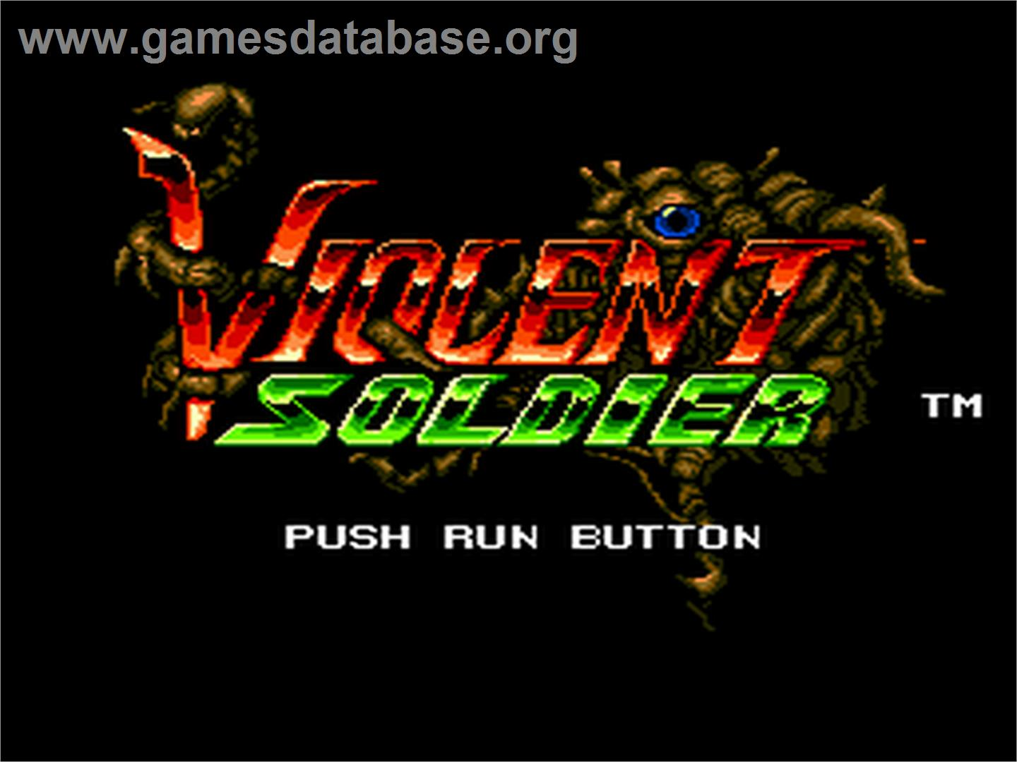 Valis: The Fantasm Soldier - NEC PC Engine - Artwork - Title Screen