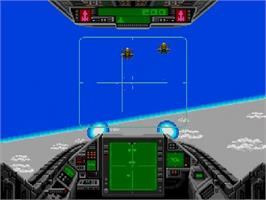 In game image of Battle Ace on the NEC SuperGrafx.