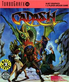 Box cover for Cadash on the NEC TurboGrafx-16.
