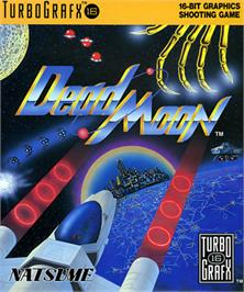 Box cover for Dead Moon on the NEC TurboGrafx-16.