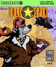 Box cover for Disney's TaleSpin on the NEC TurboGrafx-16.