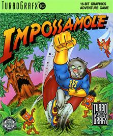 Box cover for Impossamole on the NEC TurboGrafx-16.