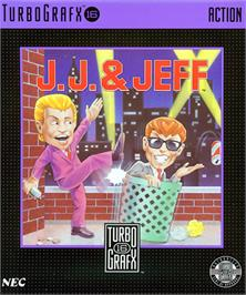 Box cover for J.J. & Jeff on the NEC TurboGrafx-16.