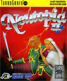 Box cover for Neutopia II on the NEC TurboGrafx-16.