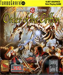 Box cover for Order of the Griffon on the NEC TurboGrafx-16.