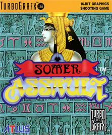 Box cover for Somer Assault on the NEC TurboGrafx-16.