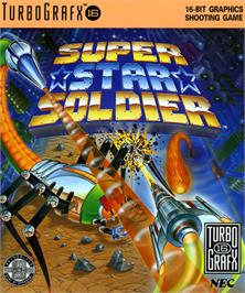 Box cover for Super Star Soldier on the NEC TurboGrafx-16.