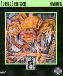 Box cover for The Legendary Axe on the NEC TurboGrafx-16.