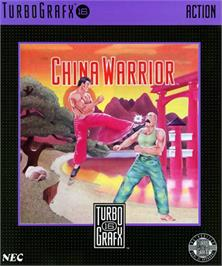 Box cover for The Ninja Warriors on the NEC TurboGrafx-16.