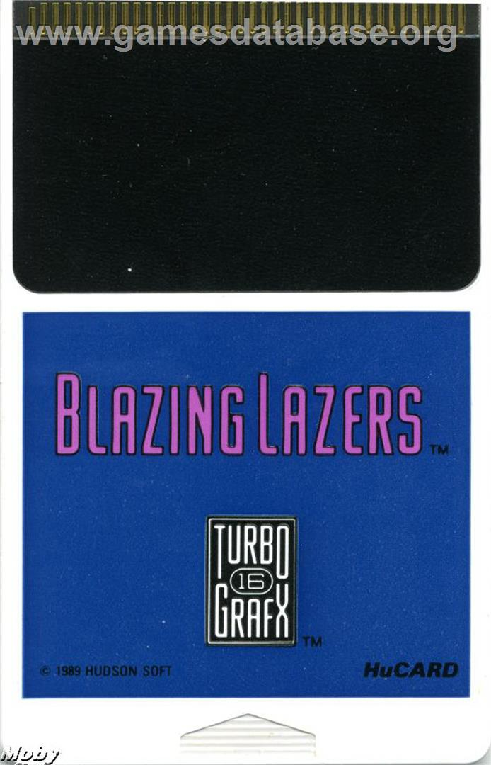 Blazing Lazers - NEC TurboGrafx-16 - Games Database