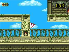 In game image of Somer Assault on the NEC TurboGrafx-16.