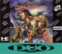 Box cover for Beyond Shadowgate on the NEC TurboGrafx CD.
