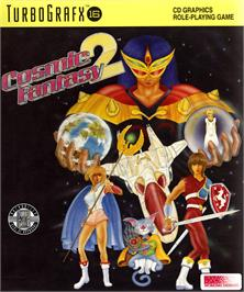 Box cover for Cosmic Fantasy 2 on the NEC TurboGrafx CD.