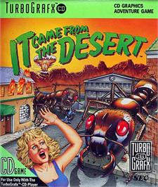 Box cover for It Came from the Desert on the NEC TurboGrafx CD.
