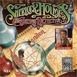 Box cover for Sherlock Holmes Consulting Detective: Volume 2 on the NEC TurboGrafx CD.