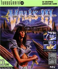 Box cover for Valis 3 on the NEC TurboGrafx CD.