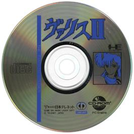 Artwork on the CD for Valis 2 on the NEC TurboGrafx CD.