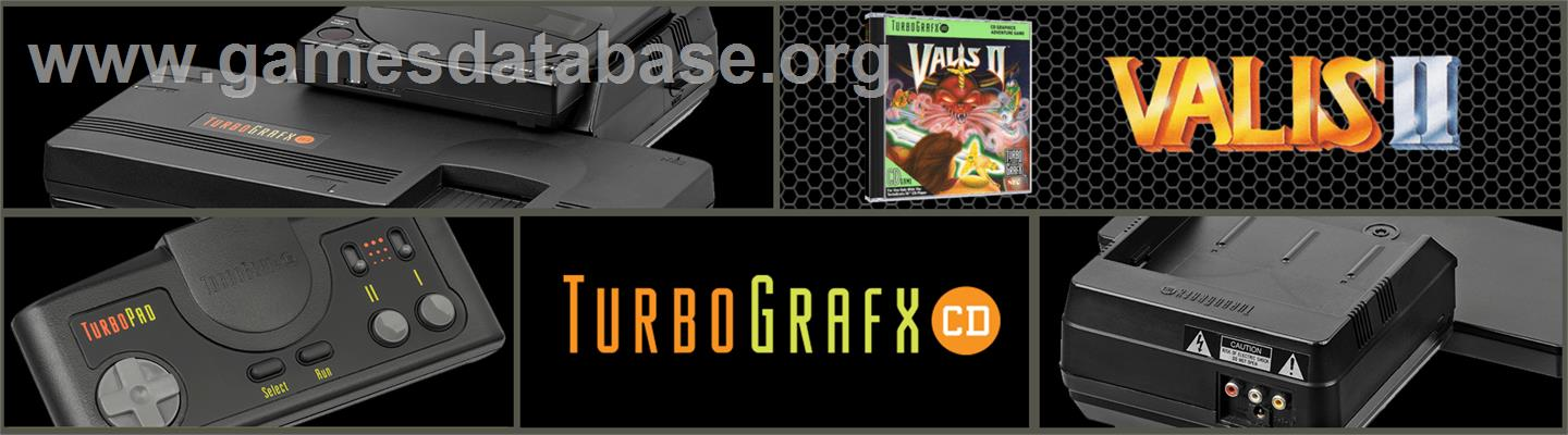 Valis 2 - NEC TurboGrafx CD - Artwork - Marquee