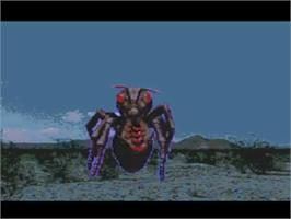 In game image of It Came from the Desert on the NEC TurboGrafx CD.