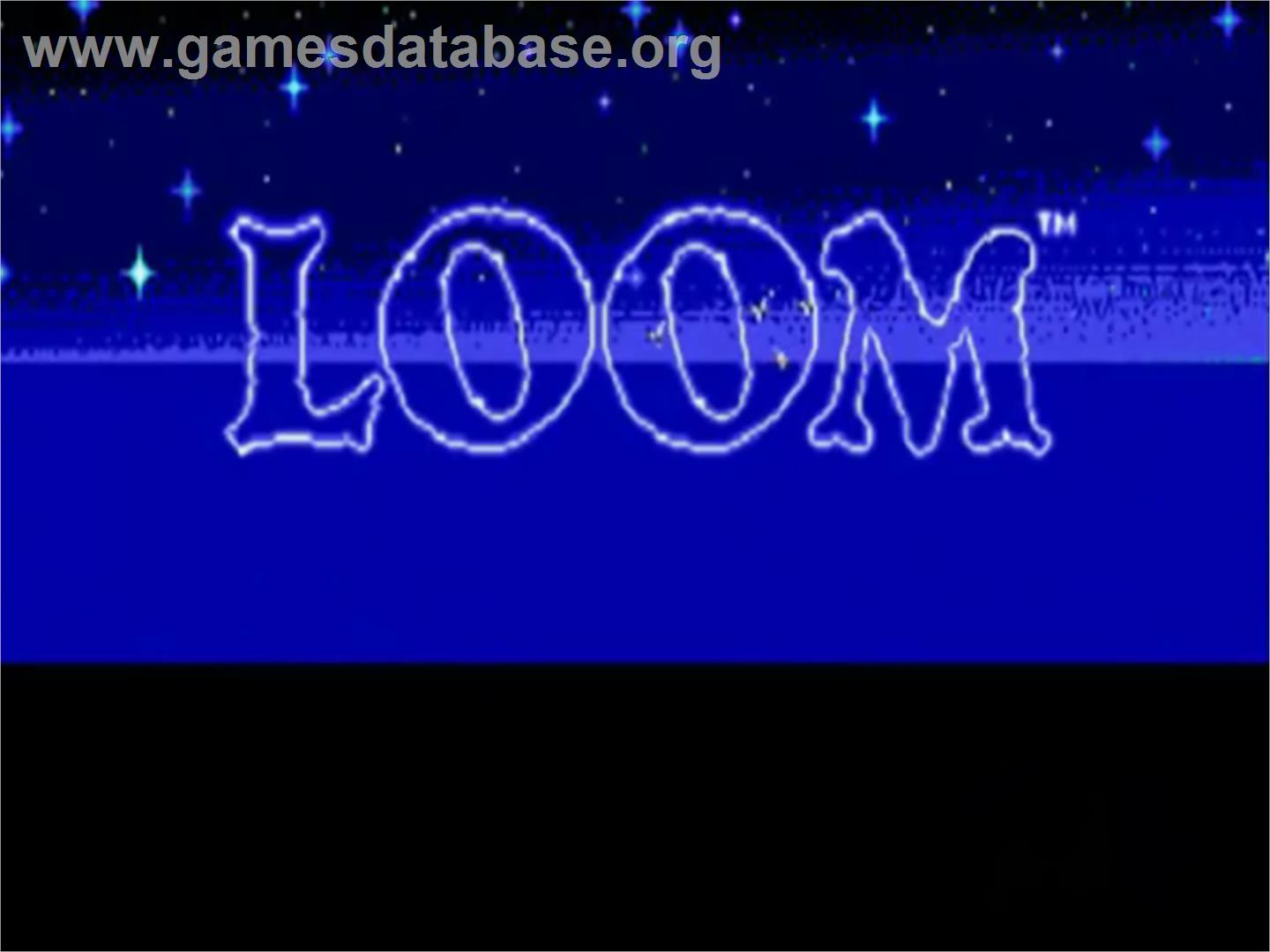 Loom - NEC TurboGrafx CD - Artwork - Title Screen