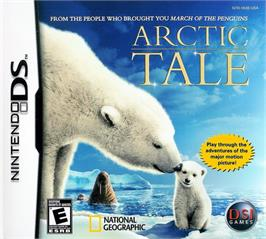 Box cover for Arctic Tale on the Nintendo DS.