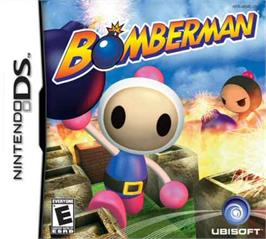 Box cover for Bomberman on the Nintendo DS.