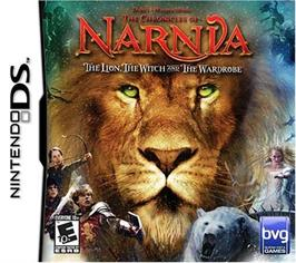 Box cover for Chronicles of Narnia: The Lion, the Witch and the Wardrobe on the Nintendo DS.