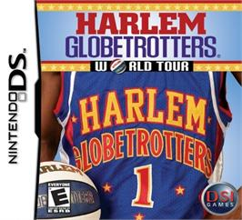 Box cover for Harlem Globetrotters: World Tour on the Nintendo DS.