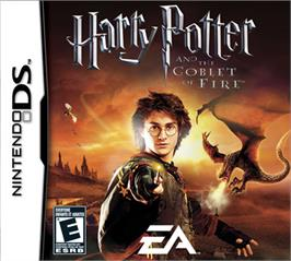 Box cover for Harry Potter and the Goblet of Fire on the Nintendo DS.