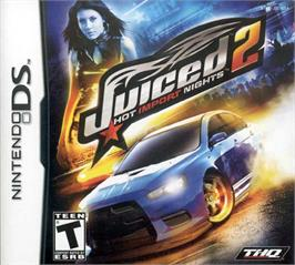 Box cover for Juiced 2: Hot Import Nights on the Nintendo DS.