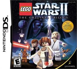Box cover for LEGO Star Wars 2: The Original Trilogy on the Nintendo DS.