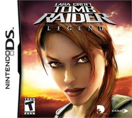 Box cover for Lara Croft Tomb Raider: Legend on the Nintendo DS.