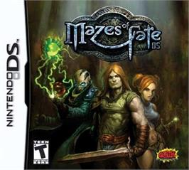 Box cover for Mazes of Fate on the Nintendo DS.