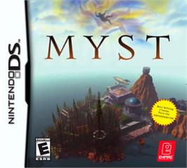 Box cover for Myst on the Nintendo DS.
