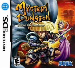 Box cover for Mystery Dungeon: Shiren the Wanderer on the Nintendo DS.